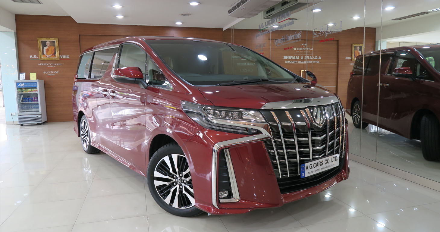 Toyota Alphard SC Package 2.5 Dark Red Mica Metallic