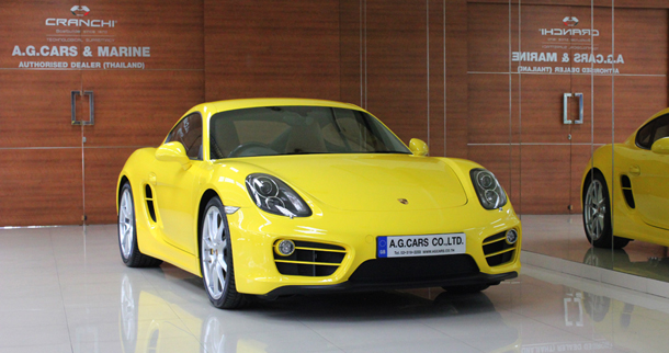 Porsche New Cayman